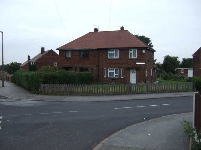 Houses on Buxton Road