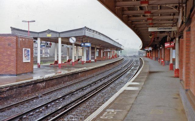 Herne Hill station, 1992