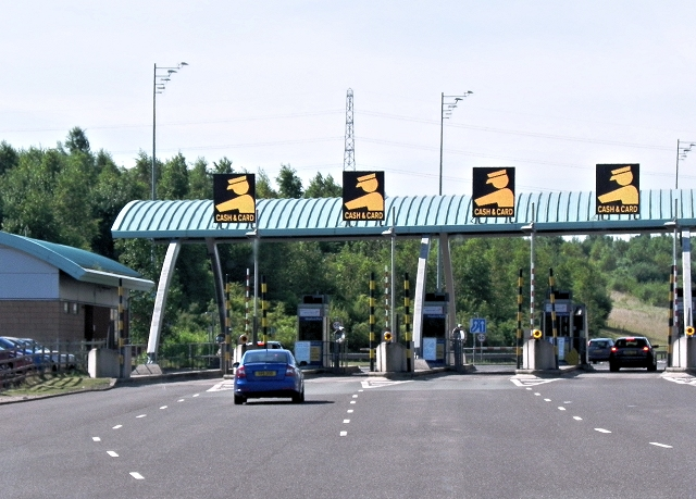 M6 Weeford Park Toll Plaza