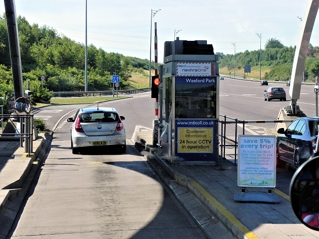 M6 Toll Booth, Weeford Park
