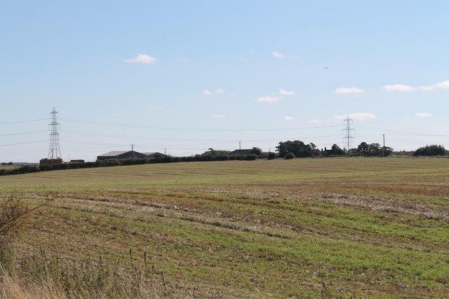 Fields towards Heath Farm