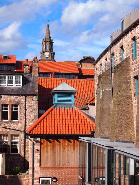 Roofscape, Berwick Upon Tweed