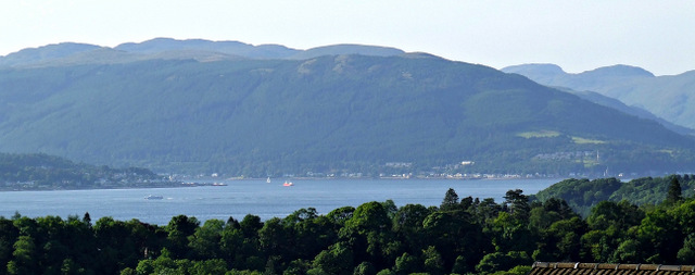 The Firth of Clyde at Inverkip