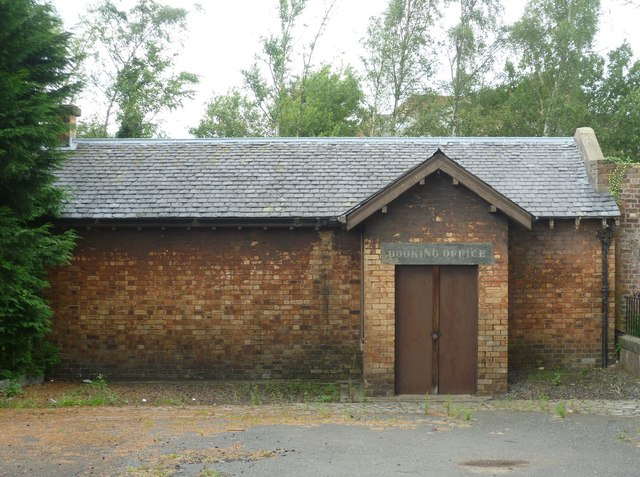 Old Loanhead Station booking office