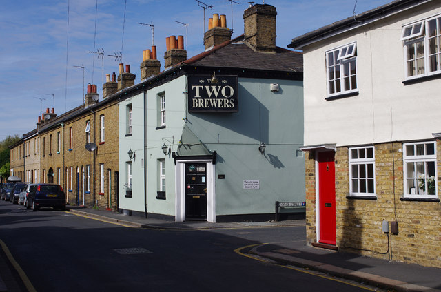 'The Two Brewers' public house, Hertford