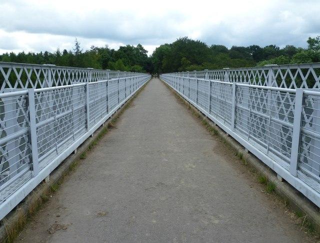 Bilston Glen Viaduct path