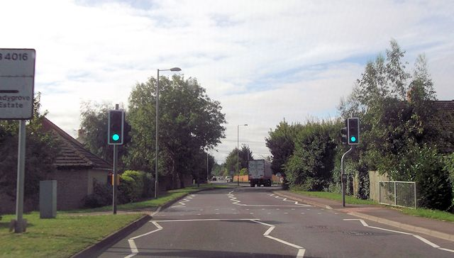 Abingdon Road approaching Trent Road roundabout