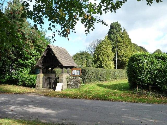 The lych gate, Tredunnock
