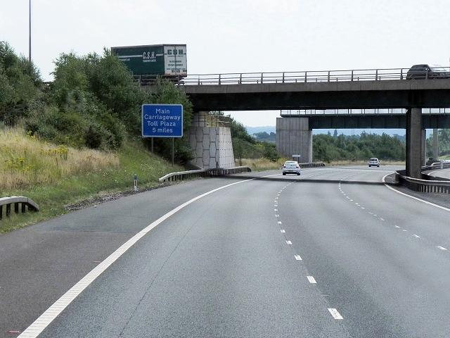 A5 Bridge over M6 Toll Road