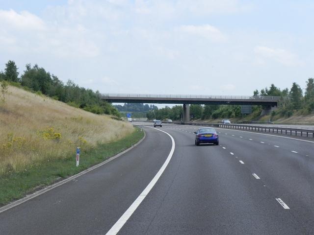 M6 Toll Road, Cranebrooke Lane Bridge
