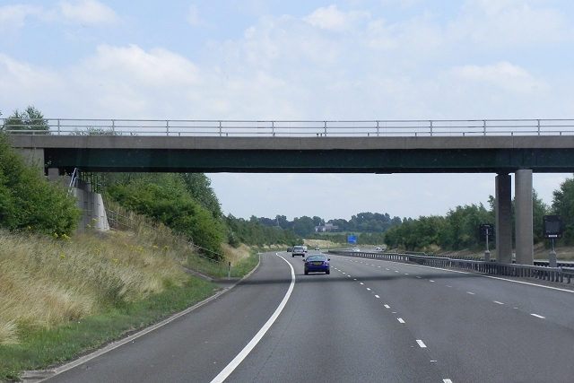 Cranebrooke Lane Bridge, M6 Toll Road