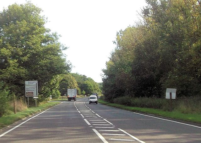 Sires Hill junction with A4130