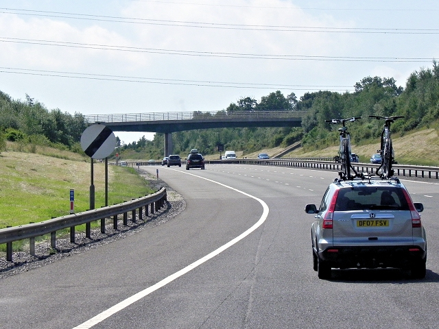 Southbound M6 Toll Road, Weeford Park