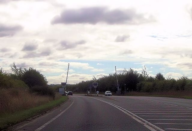 Level crossing on Wallingford by pass