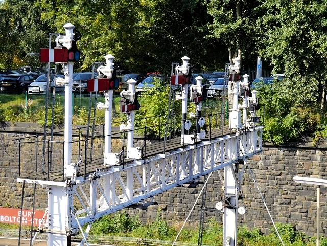 Signal Gantry, Bolton Street Station