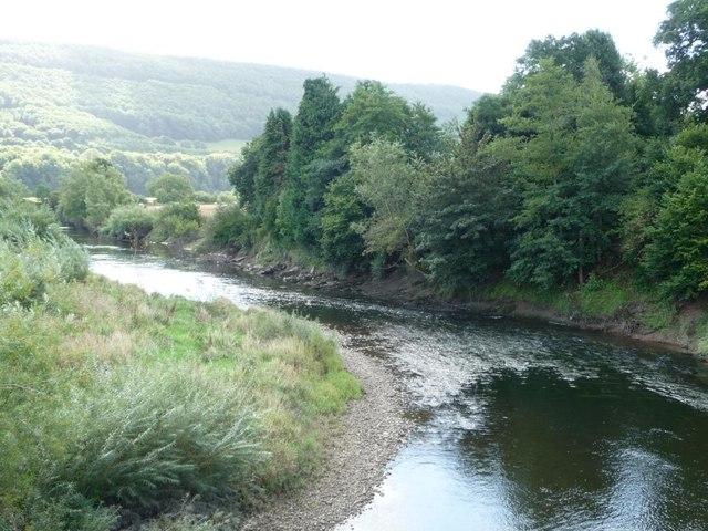 The River Usk, Newbridge on Usk