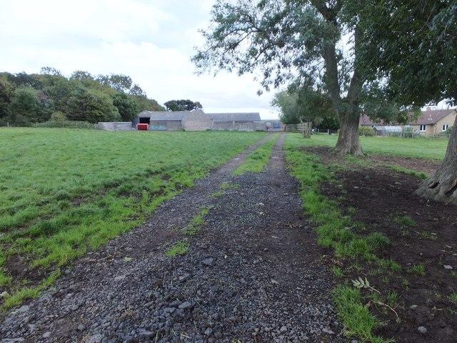 Bridleway from Allerdean