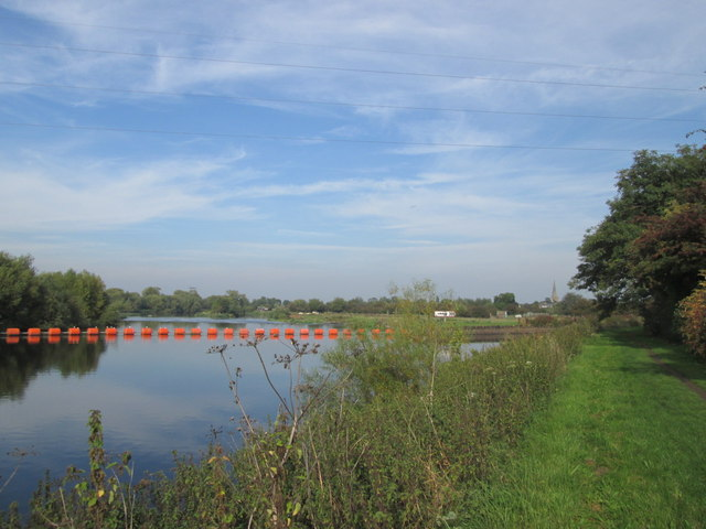 Western end of Sawley Cut