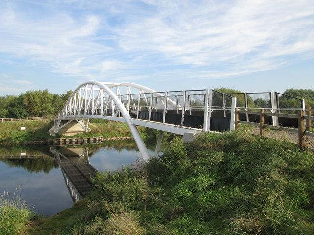 New bridge over the River Trent