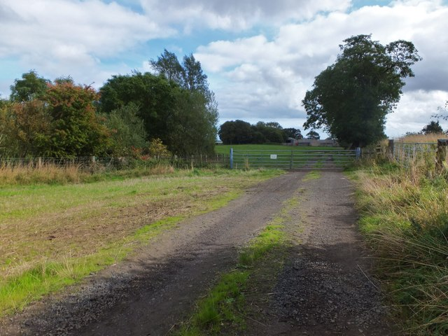 Bridleway to North Ancroft Farm