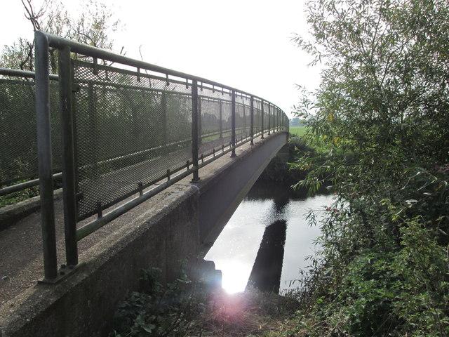 Footbridge over the River Derwent