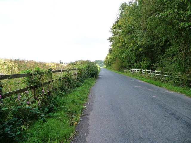 The road to Llantrisant