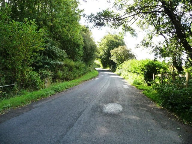 The road to Langstone
