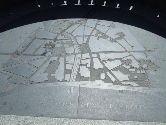 Paisley town centre map 1898