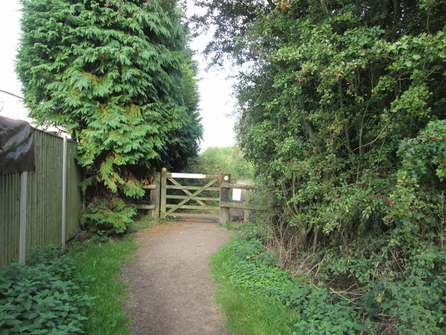 Bridleway from Church Wilne to Breaston