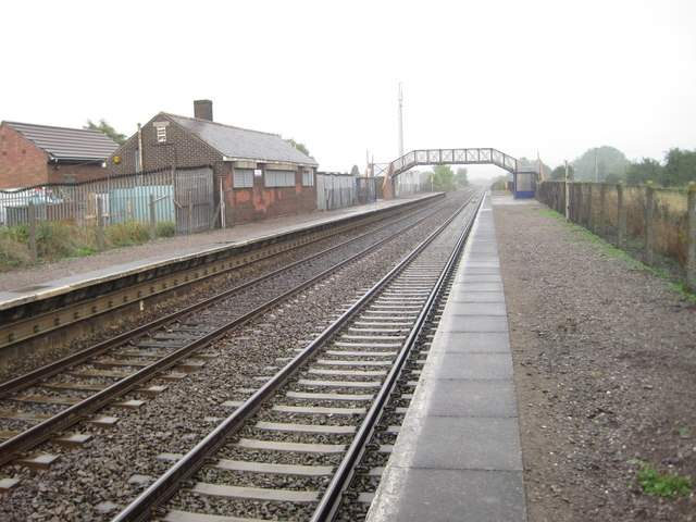 Pilning railway station, South Gloucestershire