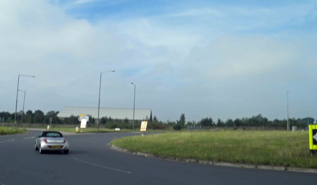 Roundabout on the A446 near Coleshill