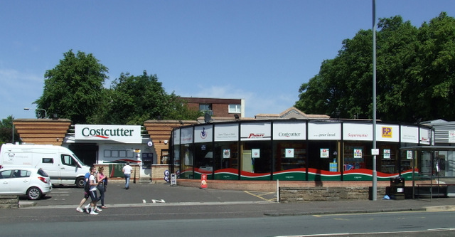 Costcutter store aon Glasgow Road