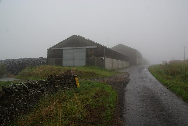 Farm buildings at Quoydandy