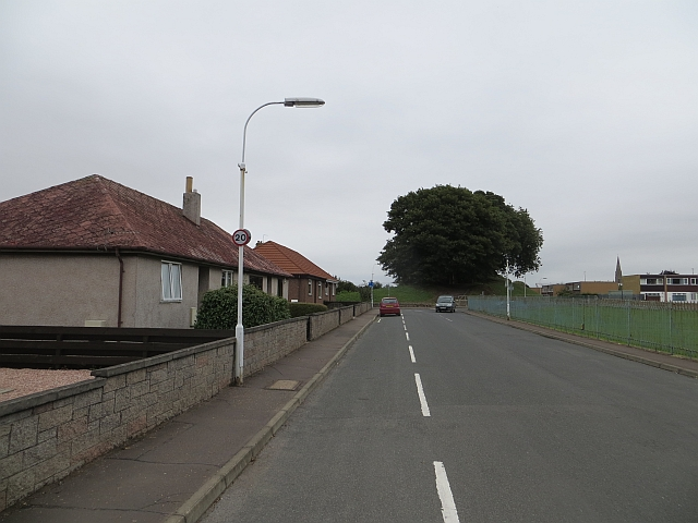 Moat Hill Road, Cupar