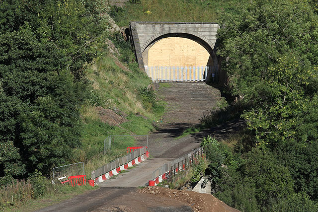 The Borders Railway Works at Bowshank Tunnel