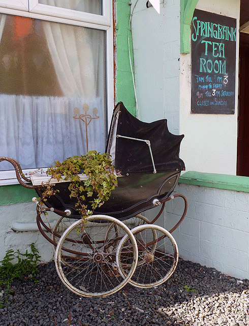 An unusual plant container at Stow