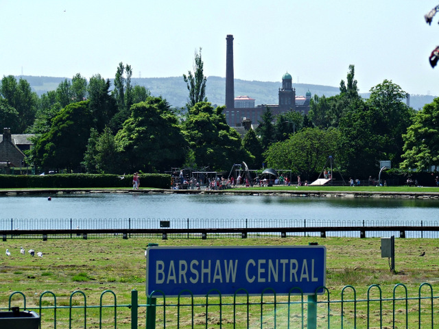 Barshaw Centra lrailway station