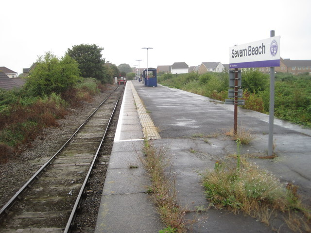 Severn Beach railway station, South Gloucestershire
