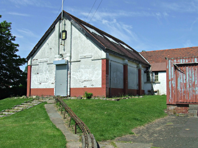 Engine shed in Barshaw Park