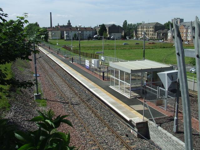 Hawkhead railway station