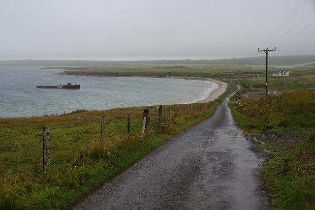 Road to Inganess Bay