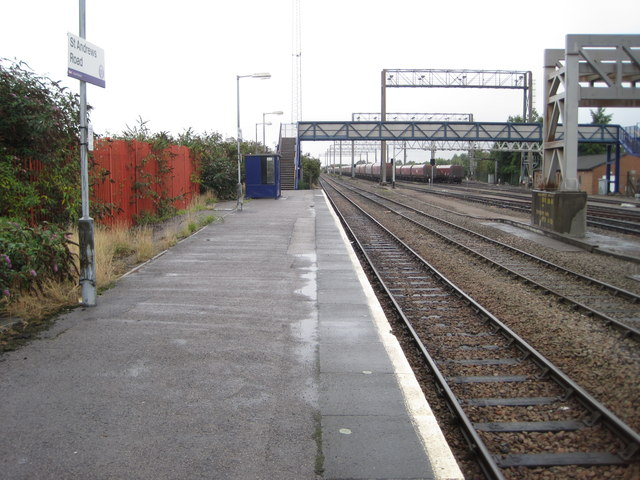 St. Andrews Road railway station, Bristol