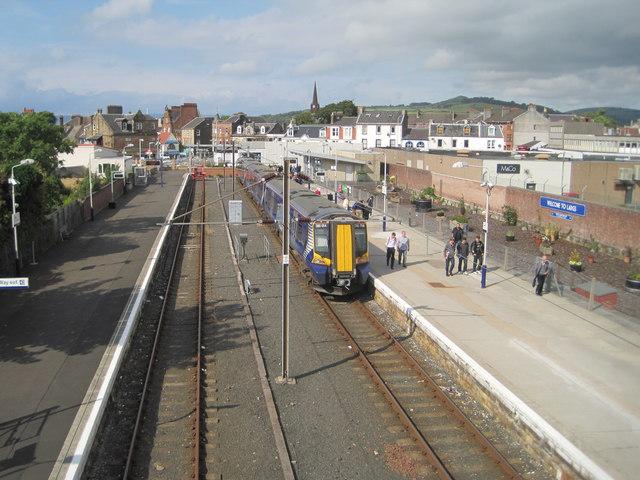 Largs railway station, Ayrshire
