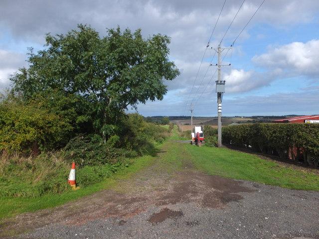 Track, East Allerdean