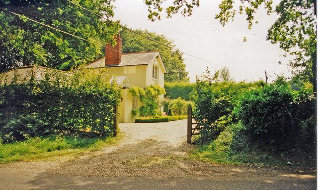 Herriard: former station, 1999