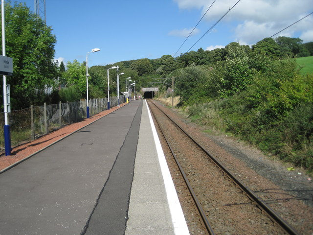 Fairlie railway station, Ayrshire