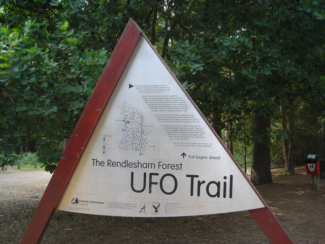 UFO Trail information board