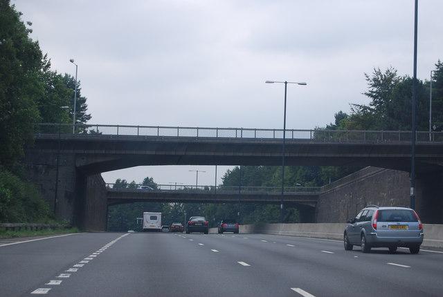 M4, J27 overbridges