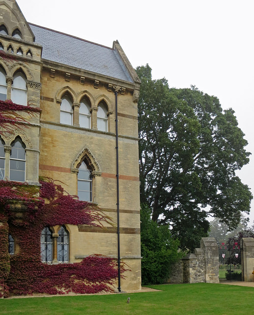 East end of Meadow Building, Christ Church College