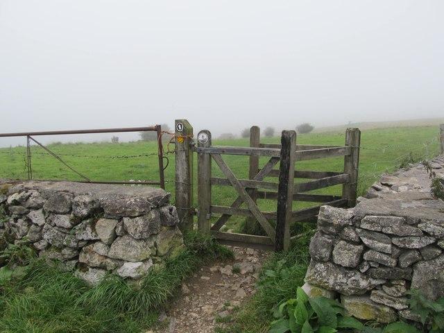 Footpath towards Westbury